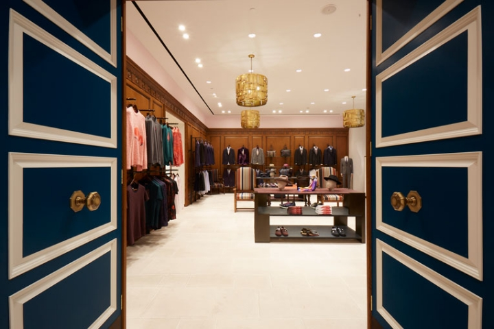 Paul Smith store opening in Bangkok BY Amanda Levete