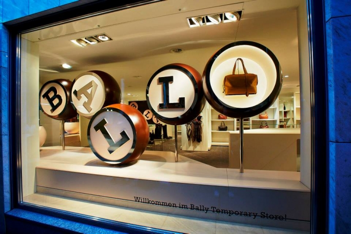 Bally Zurich temporary store