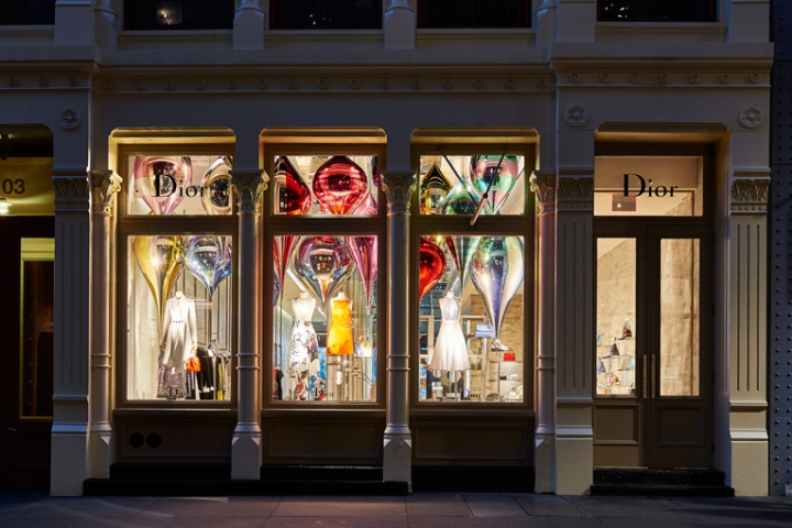 Dior Store interior in New York by Peter Marino architect