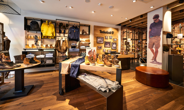 Timberland store by ARNO