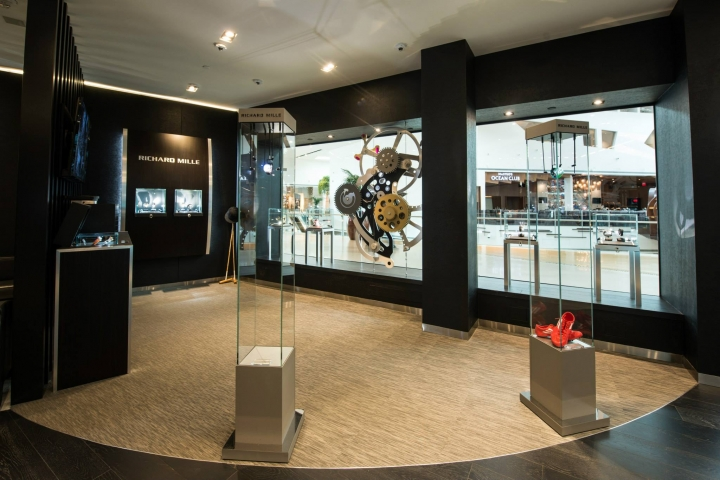 Richard Mille exclusive luxury boutique in Las Vegas