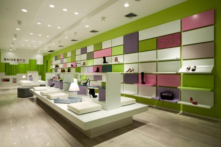 Shoebox store by Sergio Mannino Studio, New York City