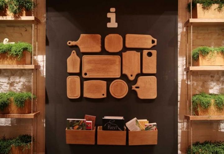 Simple fast food restaurant designed by Brandon Agency & Anna Domovesova