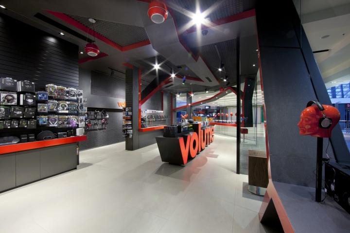 Volume showroom interior by studioginger