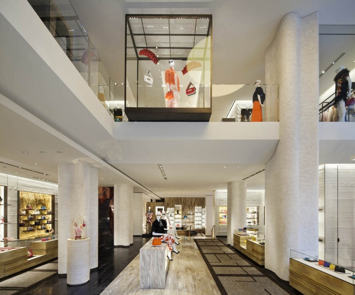 Fendi flagship store on Madison Avenue by Peter Marino