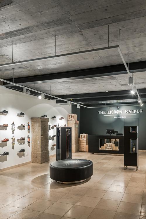 The Lisbon Walker Flagship Concept Store by Felipe Melo Oliveira