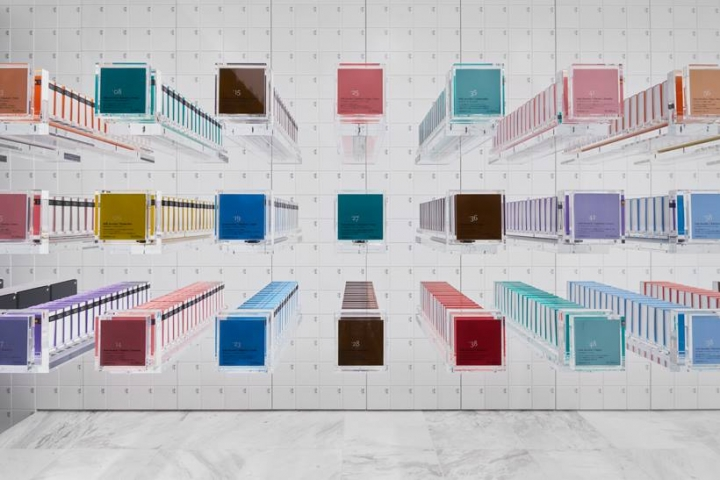 BbyB. Chocolate Shop by Nendo