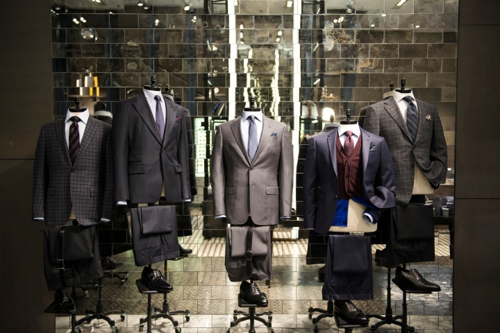 Holt Renfrew Men store in toronto by  Janson Goldstein