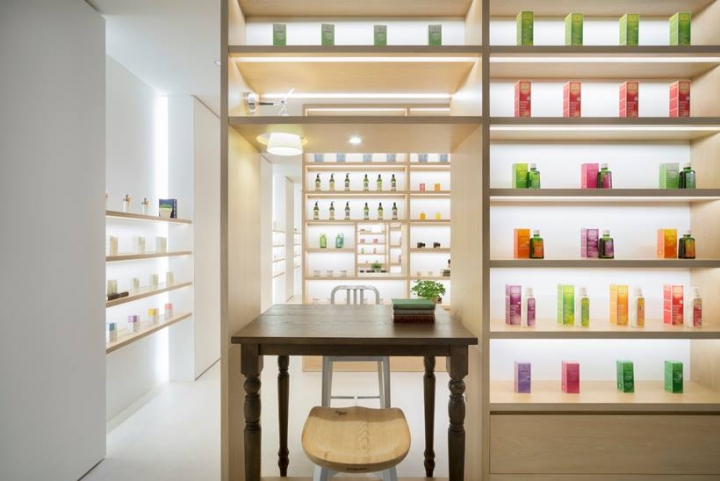 Beauty Library Store, Tokyo by Nendo