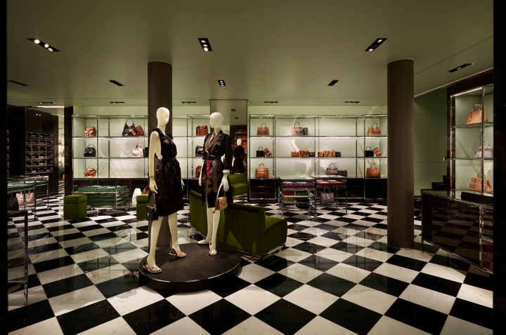 Prada reopening the historic store in Piazza San Moisè