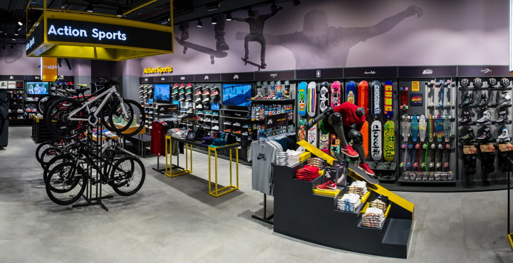 Sun & Sand Sports digital concept store by Green Room
