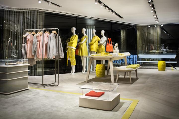 Modissa Flagship Store by Matteo Thun & Partnersin, Zurich