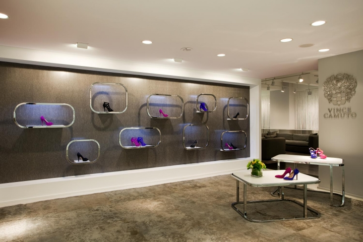 Vince camuto showroom design by Sergio Mannino