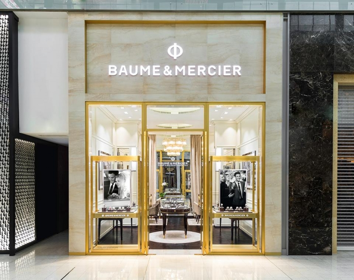 Reopening the Baume & Mercier boutique in The Dubai Mall