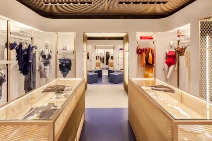 La Perla boutique in Florence by Baciocchi Associates