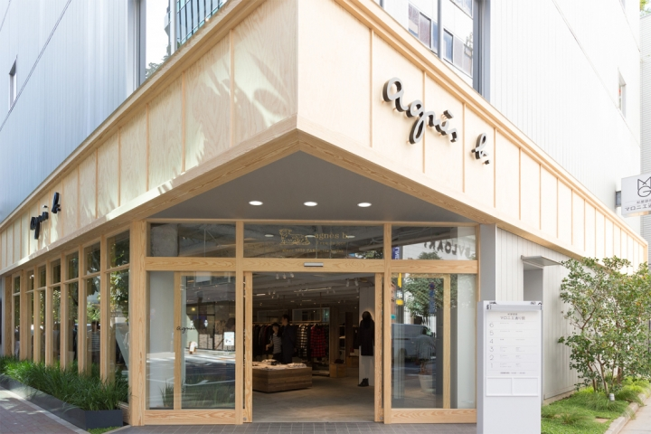 Agnès b. boutique in Tokyo's Ginza district