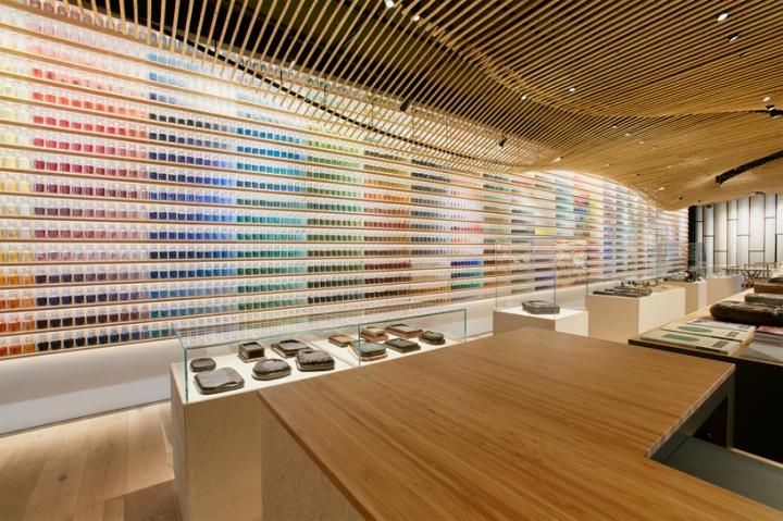 Japanese Painting Supply Store by Kengo Kuma