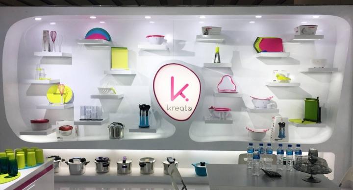 Kreate stand design  by Karim at Canton Fair, Guangzhou
