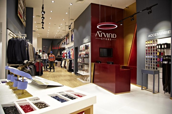 The Arvind Store interior design by Restore