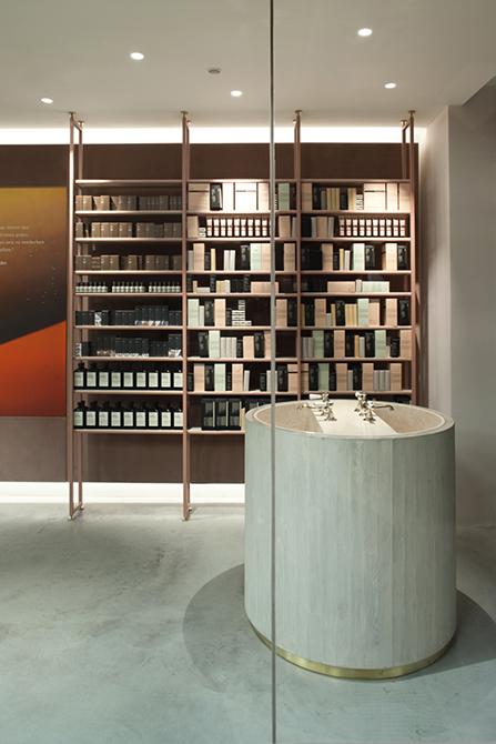 Aesop store design MUNICH by Einszu33