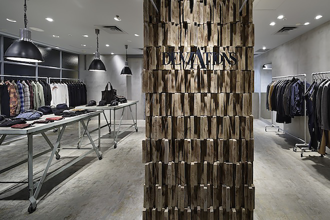 DEVIATIONS store in Yokohama by Ito Masaru design