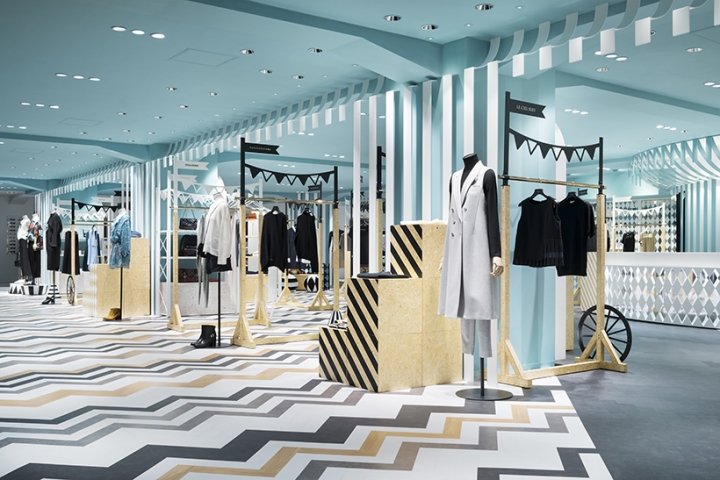 """key to style"" Seibu department store Japan by Nendo"