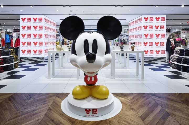 MAGIC FOR ALL Store on the 5th floor of UNIQLO Shanghai