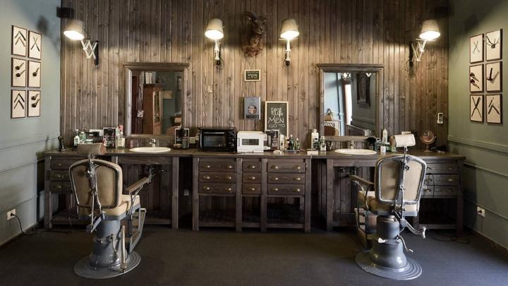 Barber shop in Timisoara by Ezzo Design