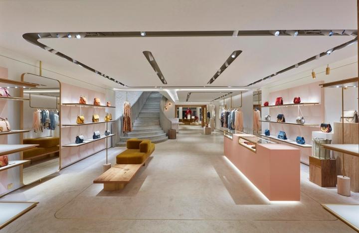 Chloe boutique Avenue Montaignev Paris