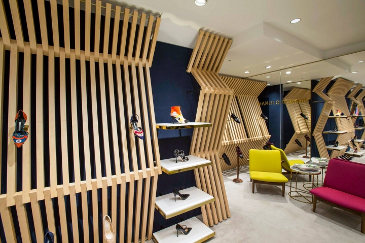 Manolo Blahnik store design by Nick Leith-Smith in Osaka
