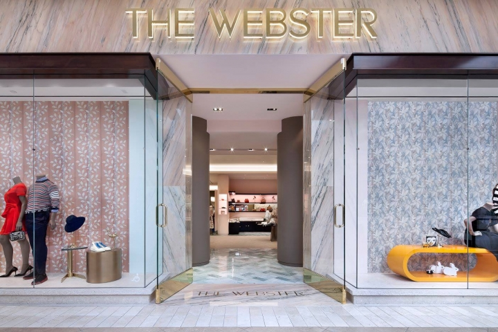 The Webster multi brand boutique in California