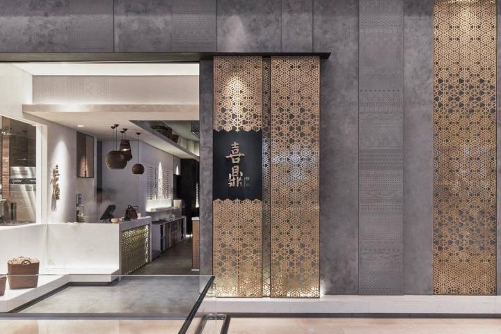 Xi Ding modern restaurant concept by RIGI Design