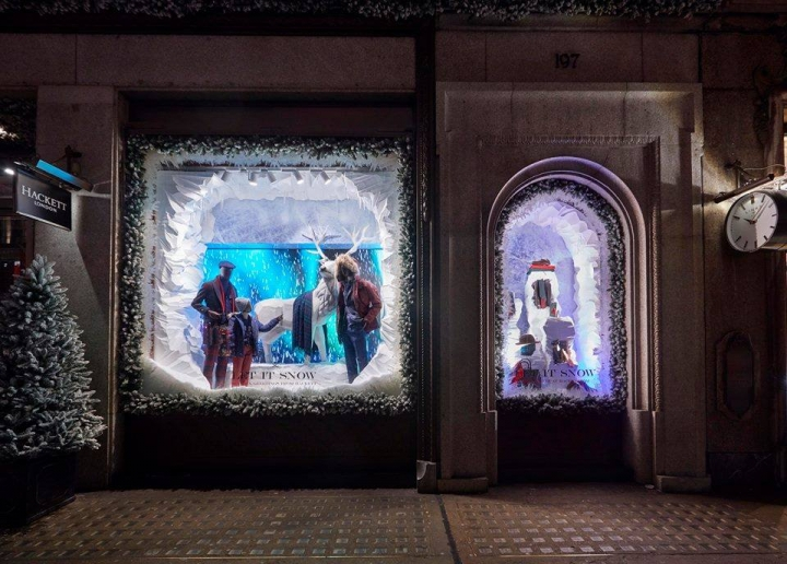 Hackett - Christmas Windows 2016 by Harlequin Design