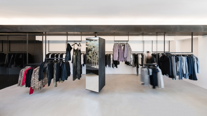 RTA Melrose Boutique in Los Angeles by Dan Brunn Architecture