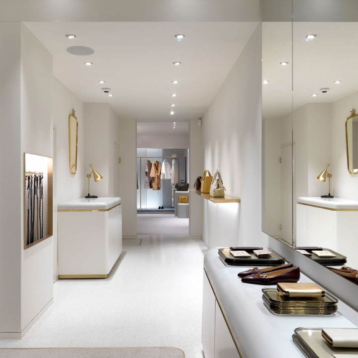 J&M Davidson boutique in London by Universal Design Studio