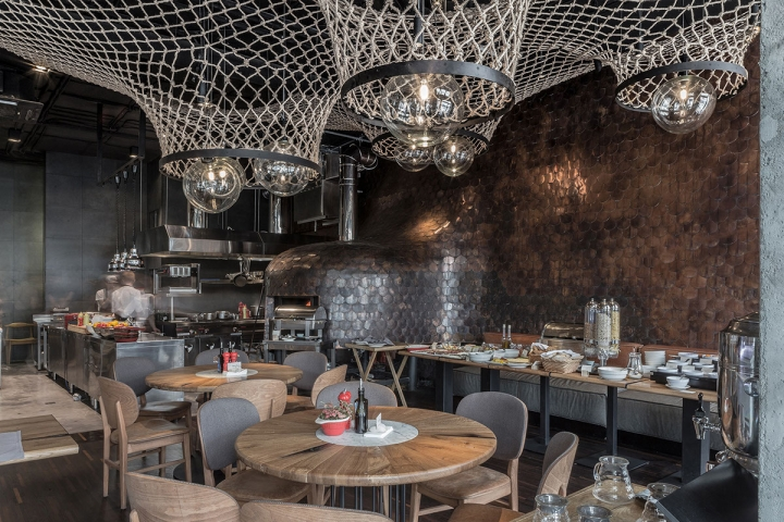 Pesce al Forno Italian fish restaurant by YOD design lab