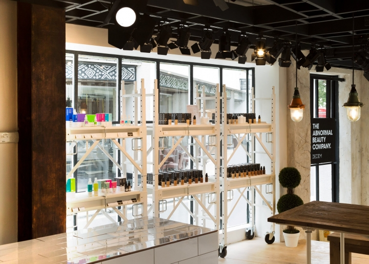 Niod beauty and skincare shop in London