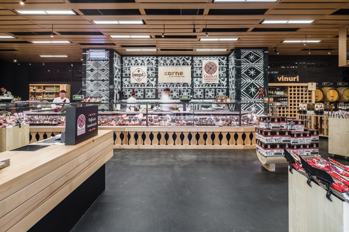 Romanian Flavors flagship store in Bucharest by studio AE