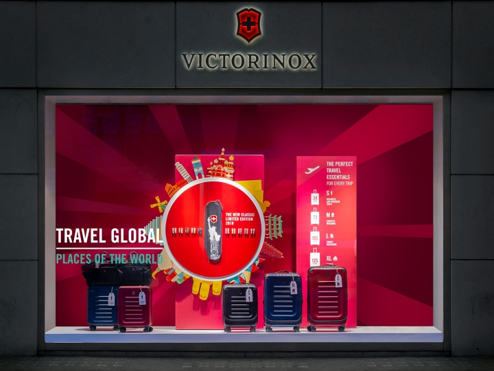 VictorInox Travel Campaign by Dfrost