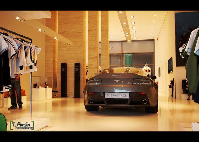 Aston Martin Flagship Store in Nurburgring