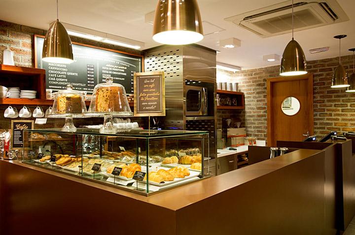 Casa Bauducco bakery store design