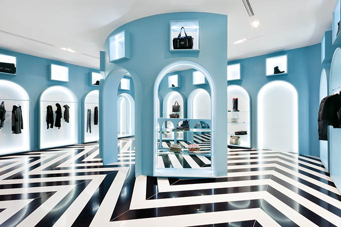 Hit Gallery minimalist retail interior design Hong Kong