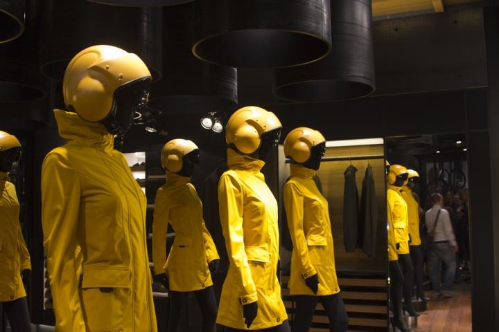 Pirelli flagship store design by Renato Montagner